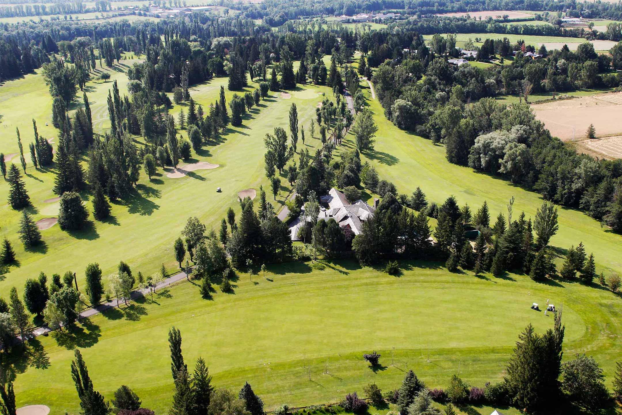 Campo de golf en cerdanya