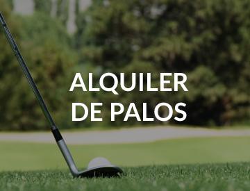 Alquiler de palos de golf en la cerdanya