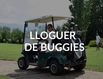 Alquiler de buggies en golf cerdanya
