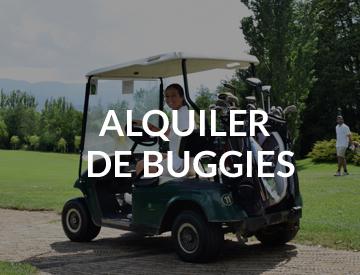 Buggies para jugar a golf en la cerdanya