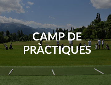 Practicas golf en real club de golf cerdanya