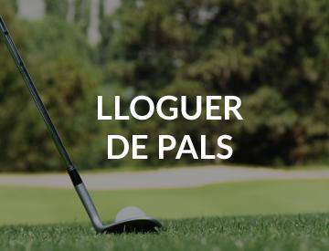 Lloguer de pals de golf cerdanya