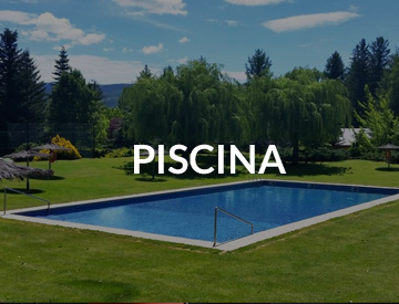 Piscina en real club de golf cerdanya