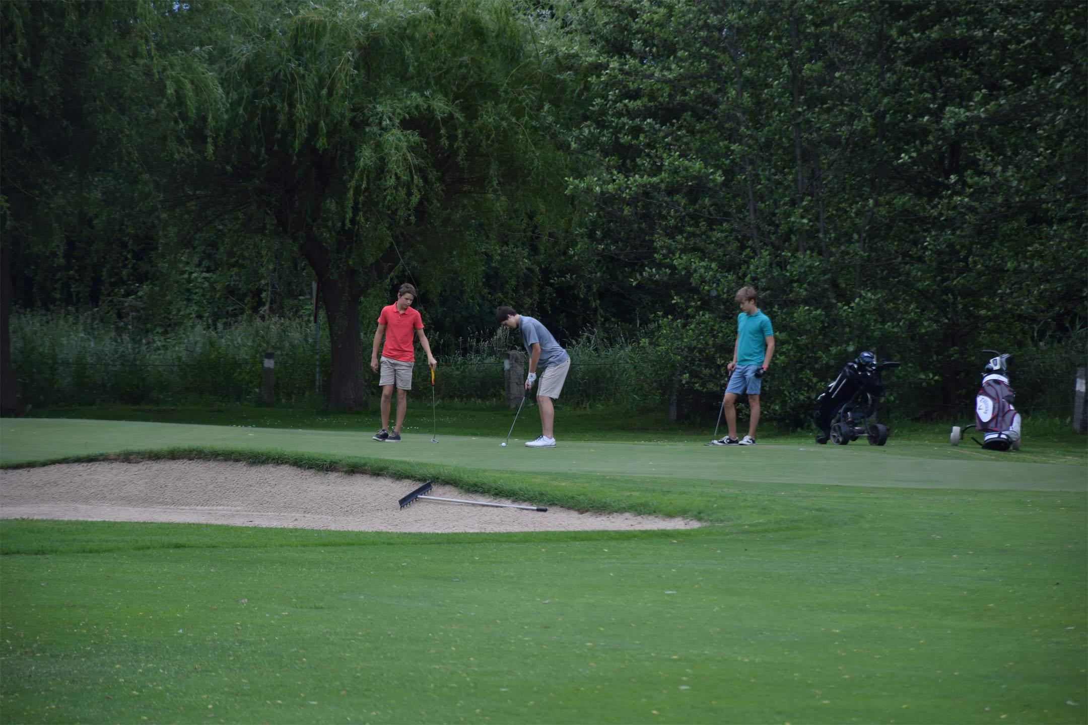 Equipo torneo golf cerdanya