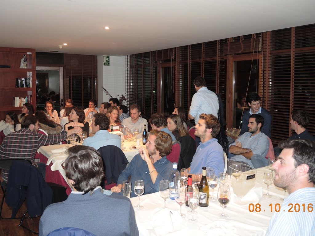 Cena equipo torneo real club golf cerdanya