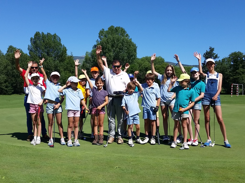 Entrega trofeos real club golf cerdanya