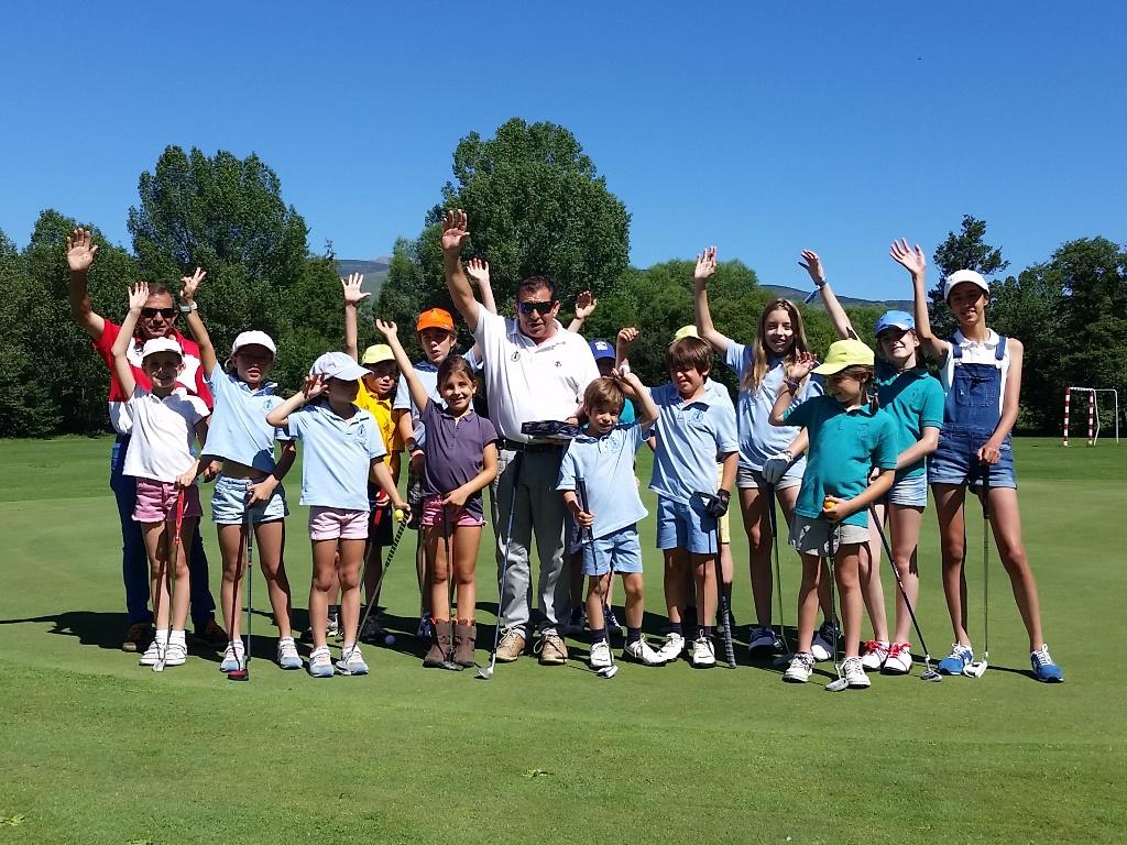 Entrega trofeos real club golf cerdanya