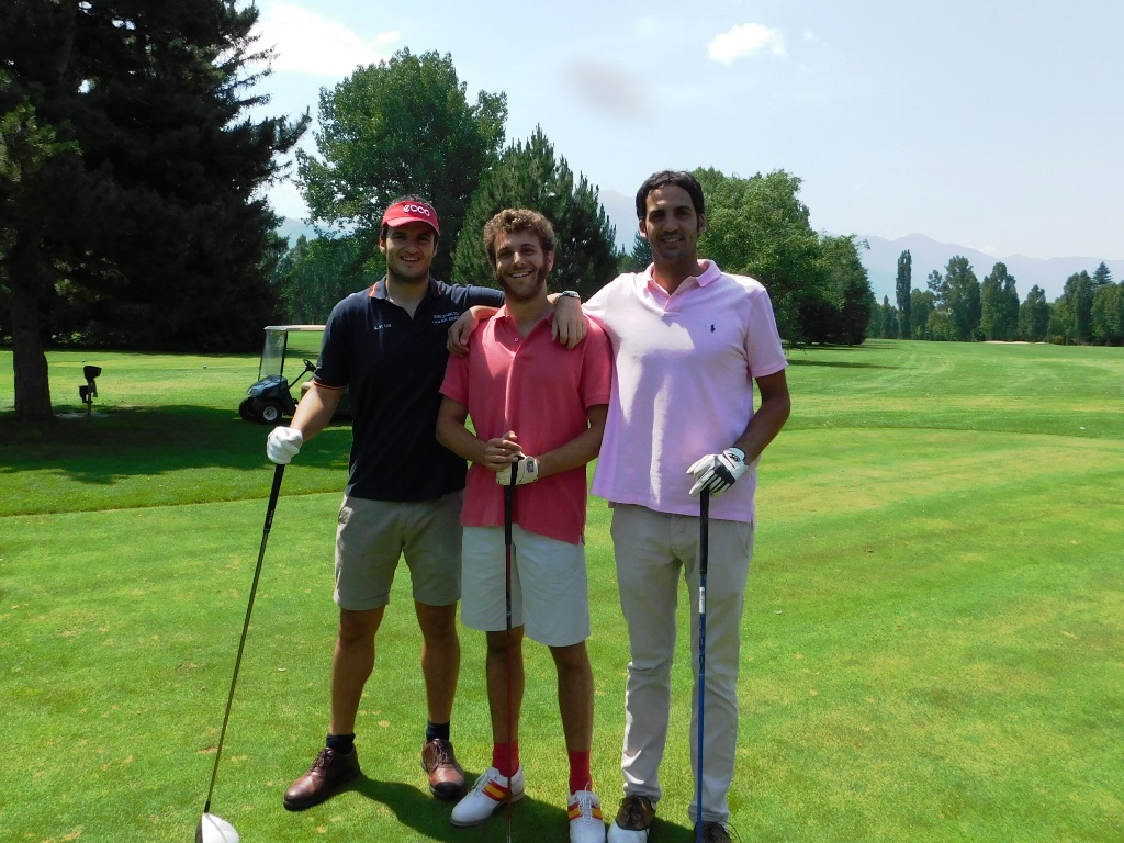 Jurado torneo golf real club golf cerdanya