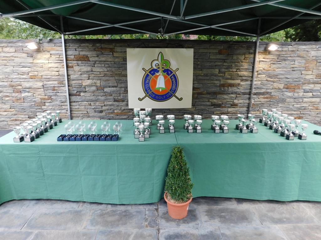 Trofeos para torneo golf en cerdanya