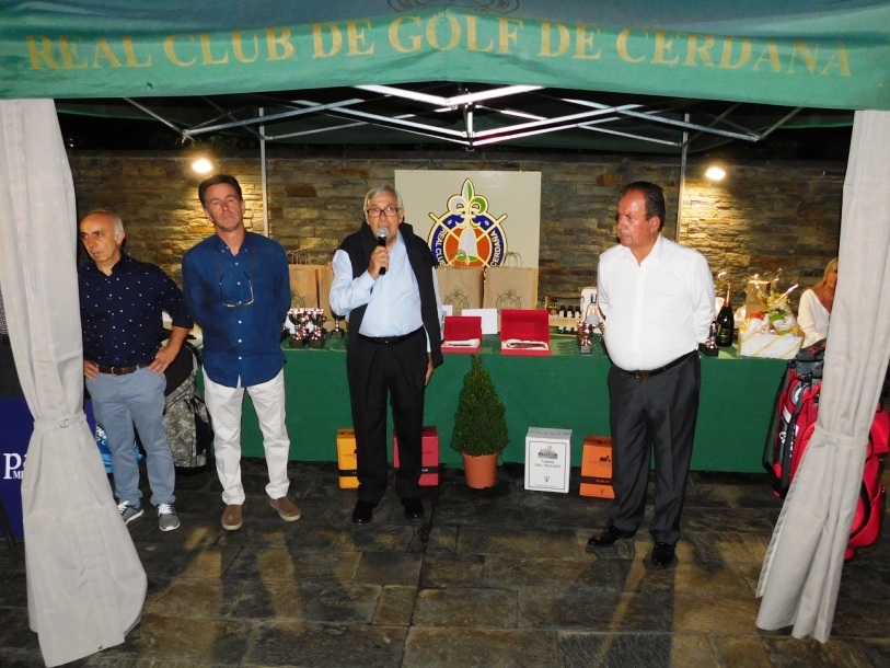 Real club golf cerdanya entrega premios