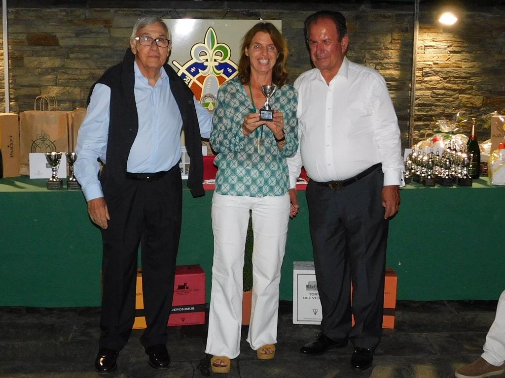 Entrega premios golf cerdanya