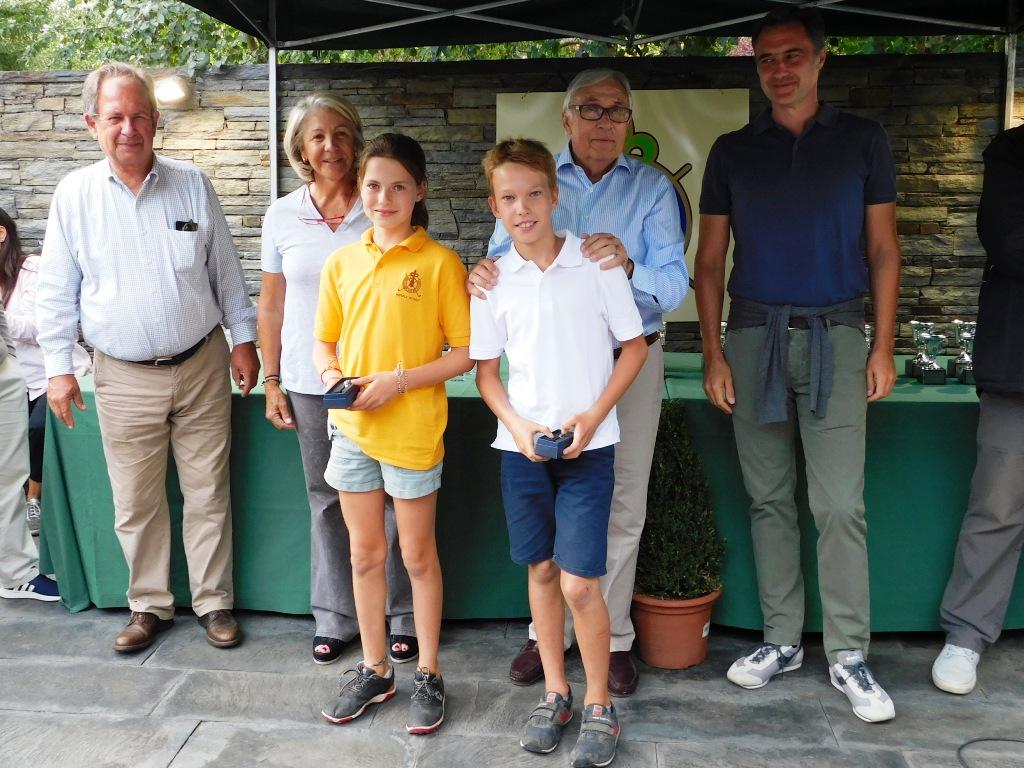 Torneo de golf infantil en la cerdanya