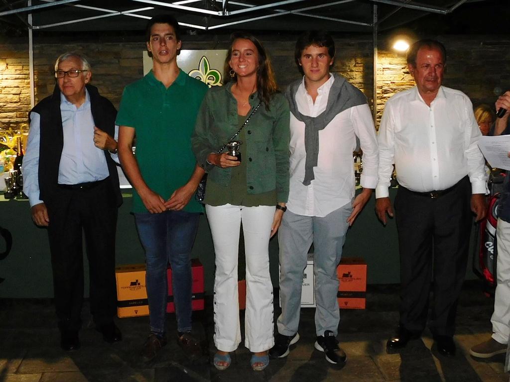 Participantes torneo golf cerdanya