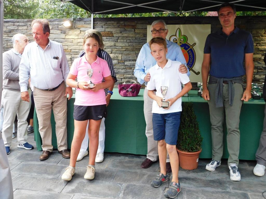 Trofeo torneo infantil en la cerdanya
