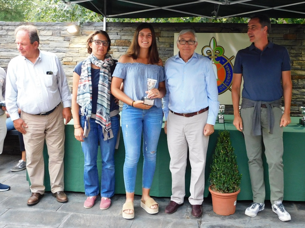 Ganadores torneo golf cerdanya