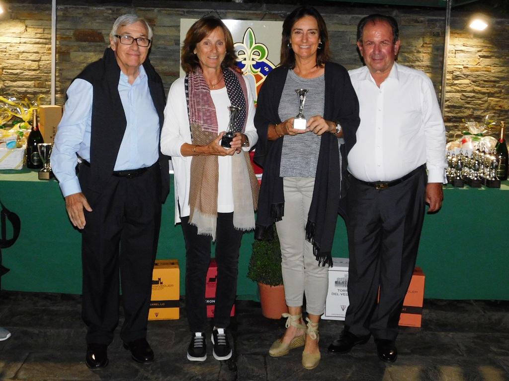 Entrega premios golf cerdanya en Agosto