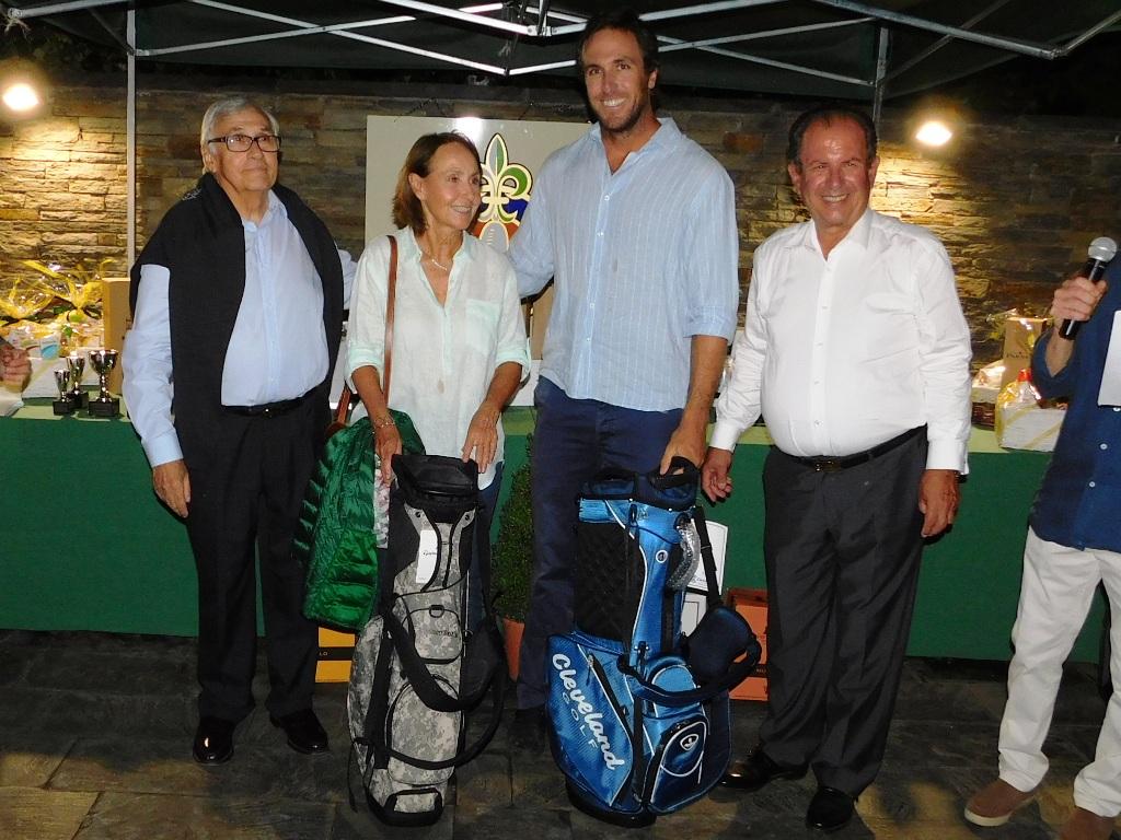Equipo torneo golf en cerdanya
