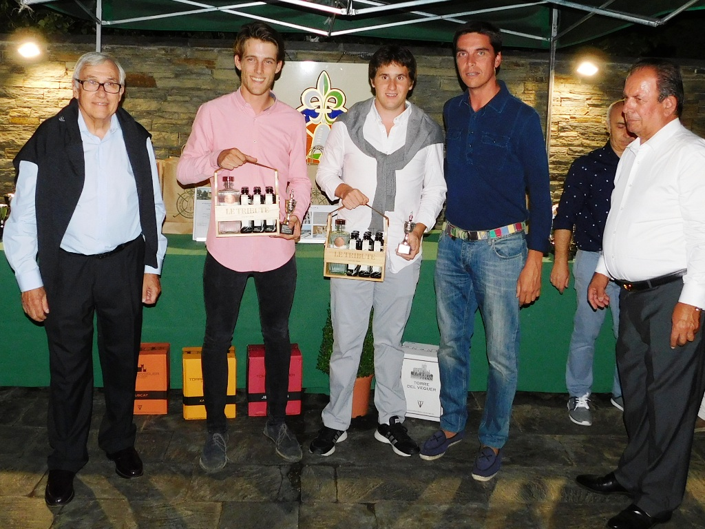 Entrega premios torneo golf la cerdanya