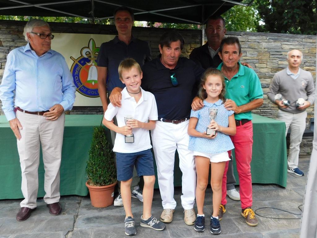 Ganadores torneo infantil de golf cerdanya