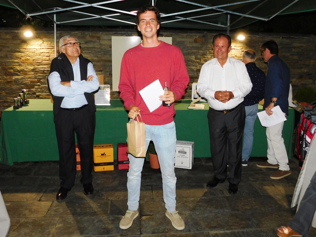 Entrega premios real club golf cerdanya