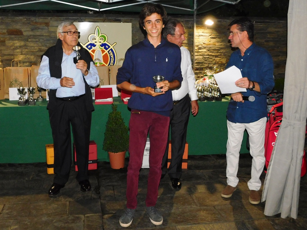 Ganador torneo golf real club golf cerdanya