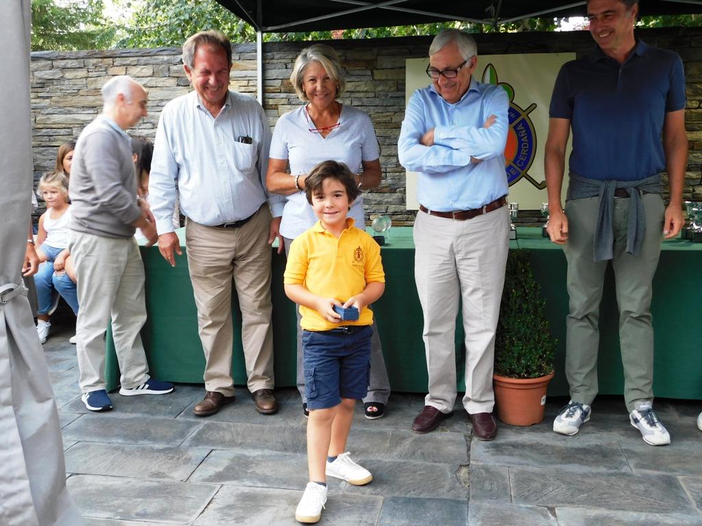 Torneo infantil de golf cerdanya