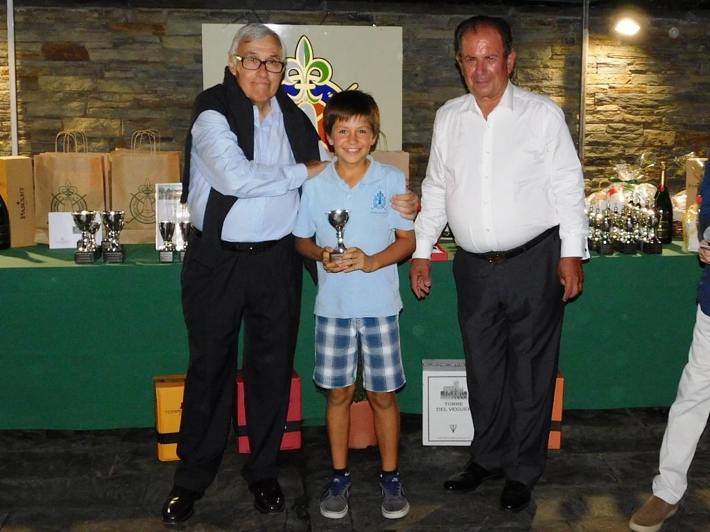 Reparto de trofeos torneo golf cerdanya