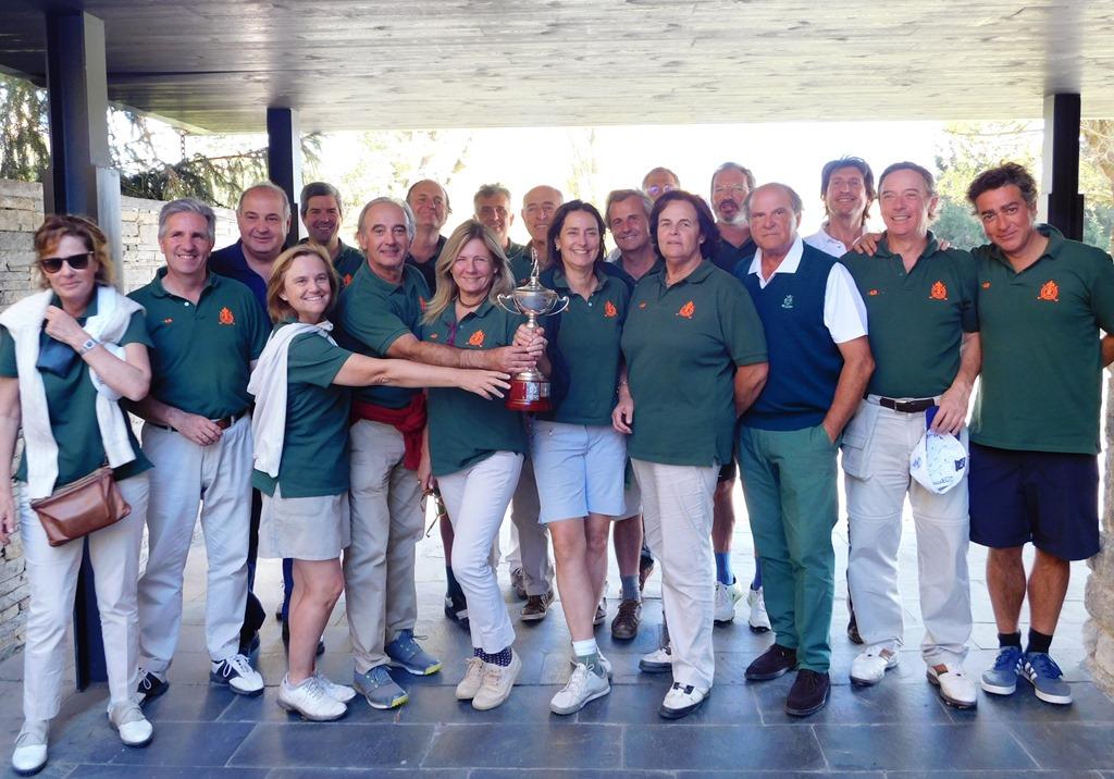 Campeones torneo de golf cerdanya