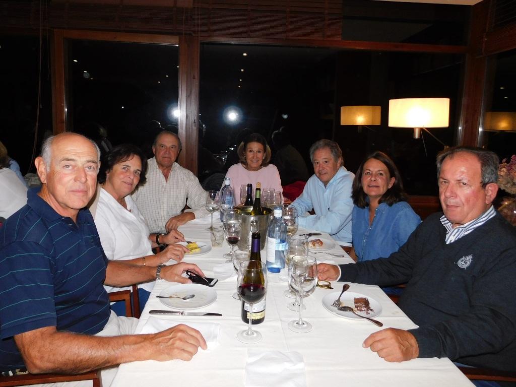 Cena equipos golf cerdanya