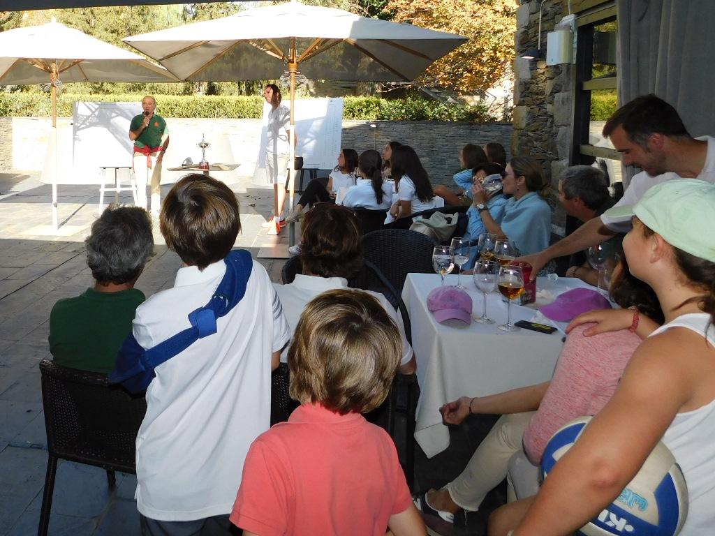 Entrega de premios golf la cerdanya