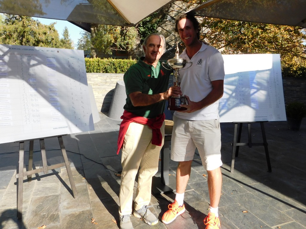 Entrega trofeo golf cerdanya