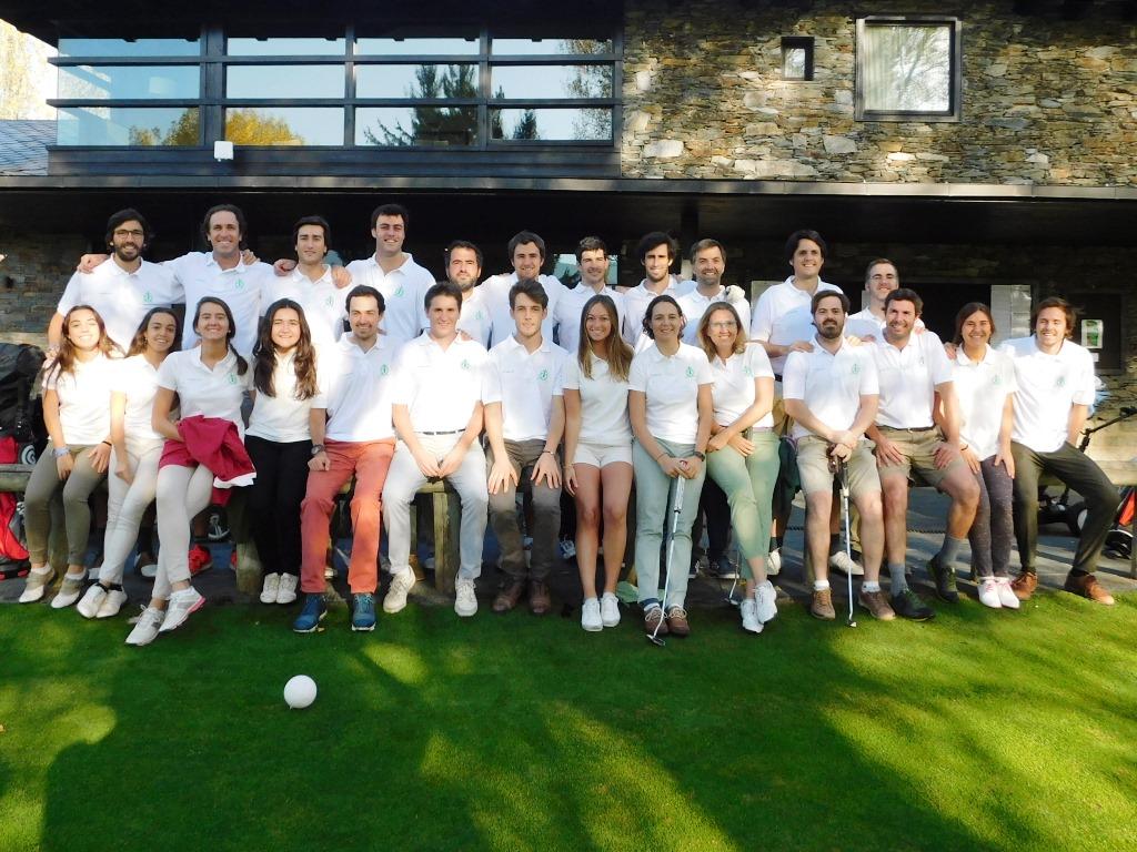 equipo jóven golf la cerdanya