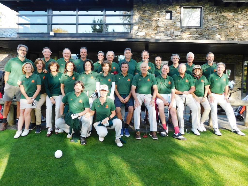 Equipo de mayores golf cerdanya