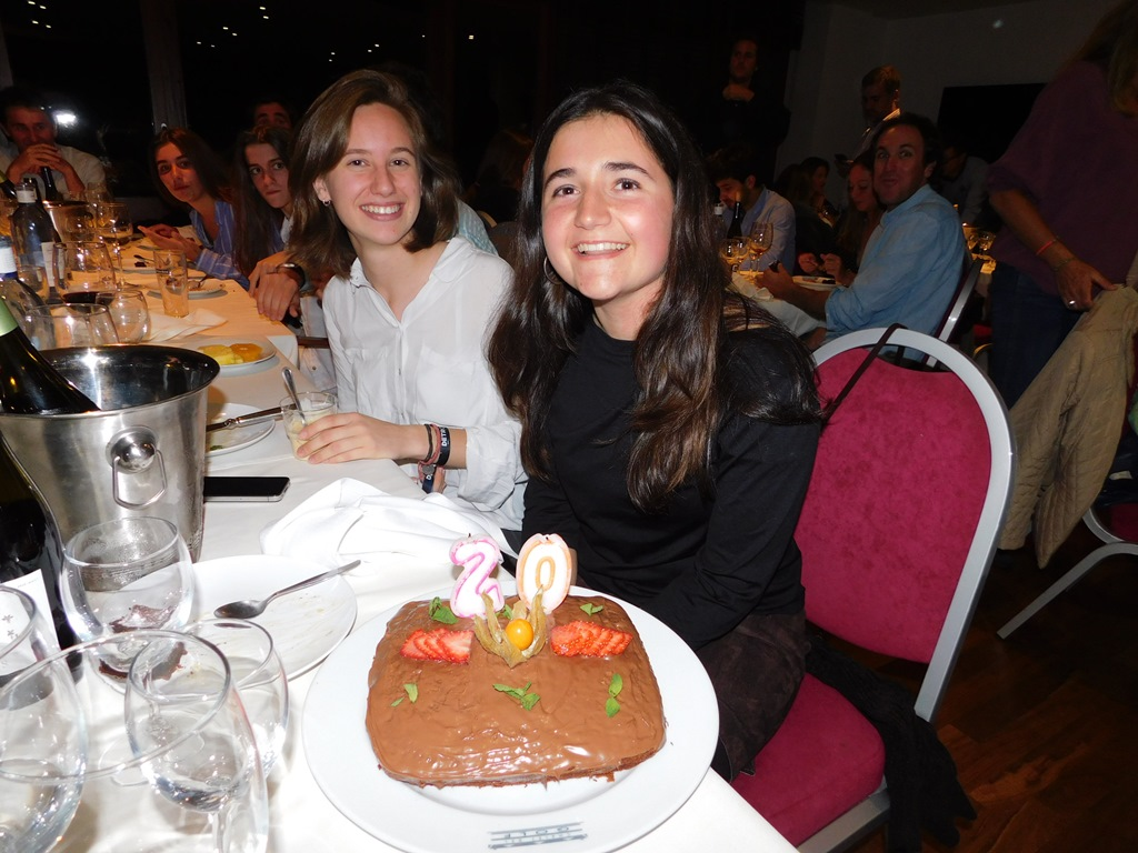Cena aniversario real club golf cerdanya